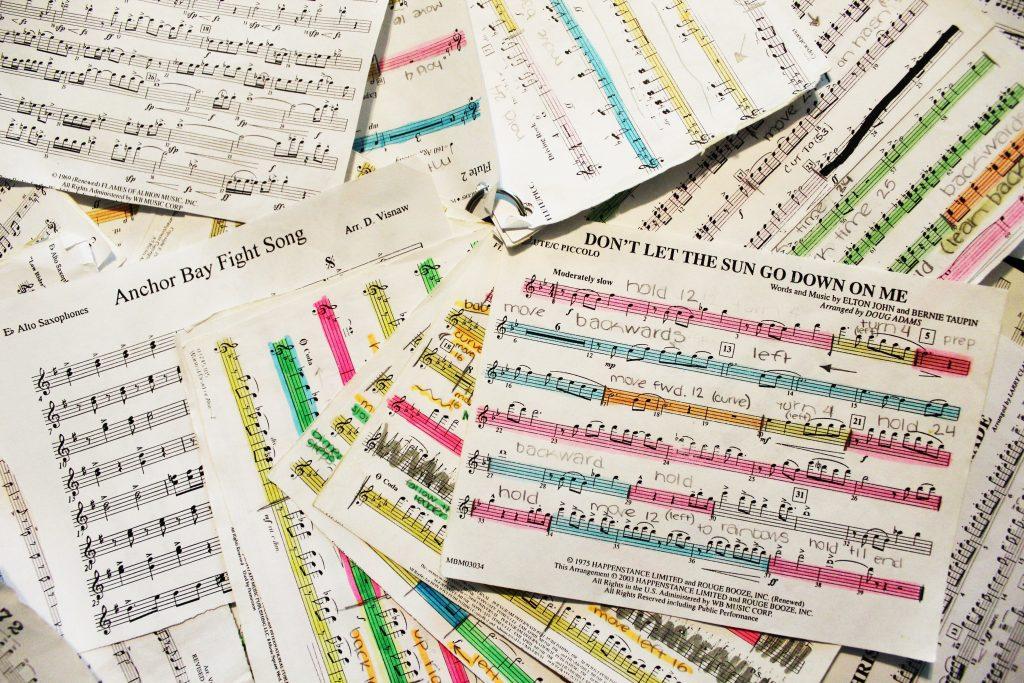assorted sheet music - Photo by Cassi Stewart on Unsplash